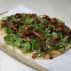 Grapes & Arugula Flat Bread